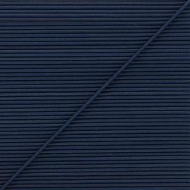 Cordon élastique rond 1,9 mm - bleu marine x 1m