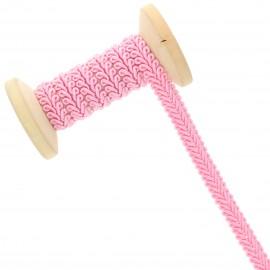 9 mm Gimp braid Roll - pink