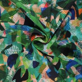 Tissu rayonne Dashwood studio Circle line - Paper jungle x 10cm