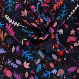 Tissu rayonne Dashwood studio Circle line - Seasons - noir x 10cm