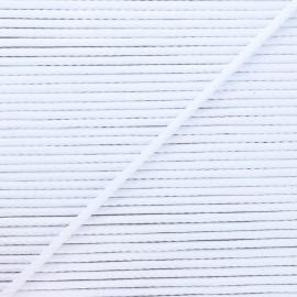Cordon tricoté Chroma 4 mm - blanc x 1m
