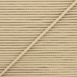 4mm Knit cord - sand Chroma x 1m