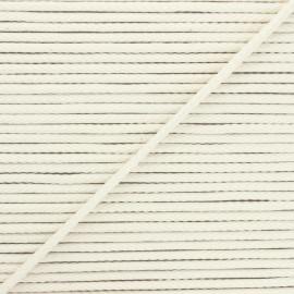 Cordon tricoté Chroma 4 mm - écru x 1m