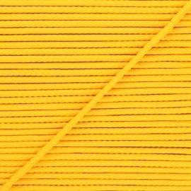 4mm Knit cord - sun yellow Chroma x 1m