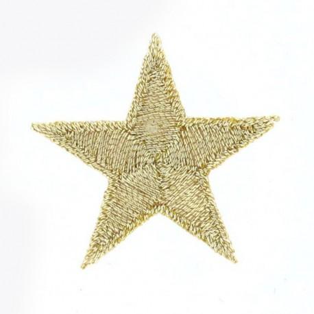 Thermo étoile doré 3cm