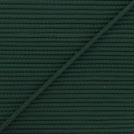 Cordon tricoté Chroma 4 mm - vert pin x 1m