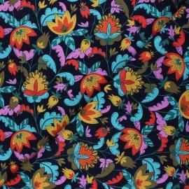 Tissu velours milleraies Dashwood Studio Kaleidoscope - Retro flower x 10cm