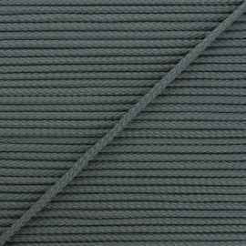 4mm Knit cord - dark grey Chroma x 1m