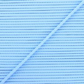 4mm Knit cord - light blue Chroma x 1m