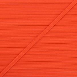 5 mm flat elastic - orange x 1m