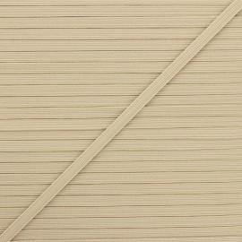 Elastique plat Colores 5 mm - sable x 1m