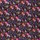 Dashwood corduroy velvet fabric - Floral Kaleidoscope x 10cm