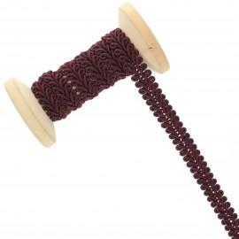 9 mm Gimp braid Roll - Wine