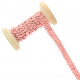 9 mm Gimp braid Roll - salmon pink