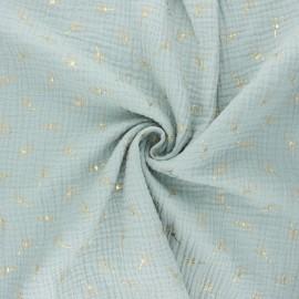 Double gauze fabric - opalin Pissenlit doré x 10cm