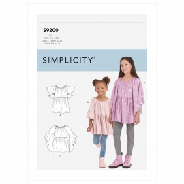 Comfy sewing Pattern for Children - Simplicity n°S9198