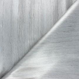 Tissu toile cirée Illusion - gris x 10cm