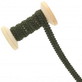 9 mm Gimp braid Roll - Dark Khaki