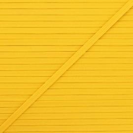 Elastique plat Colores 5 mm - jaune x 1m