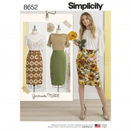 Skirt and pants sewing Pattern for Woman - Simplicity n°9110