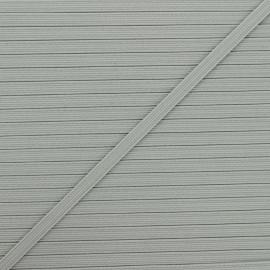 Elastique plat Colores 5 mm - gris x 1m