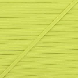 5 mm flat elastic - avocado Colores x 1m