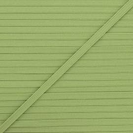 Elastique plat Colores 5 mm - romarin x 1m