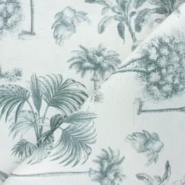 Matte coated polycotton fabric - raw Bananier x 10cm