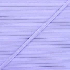 5 mm flat elastic - lavender Colores x 1m