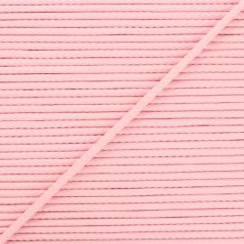 Cordon tricoté Chroma 4 mm - rose pâle x 1m