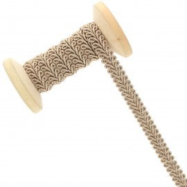 9 mm Gimp braid Roll - Beige