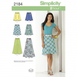 Flip skirt sewing Pattern for Woman - Simplicity n°1616