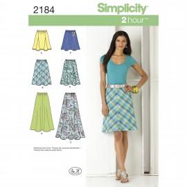 Patron Jupe fluide Femme - Simplicity n°2184