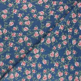 Tissu jeans fluide Rosalia - bleu x 10cm