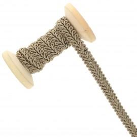 9 mm Gimp braid Roll - taupe