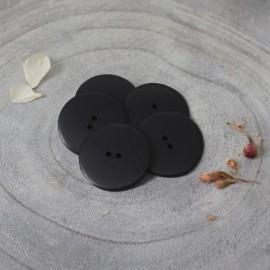 Bouton Corozo Palm Atelier Brunette - Midnight