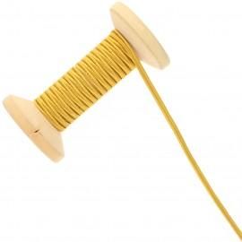 3 mm Cotton Braid Ribbon Roll - Ochre