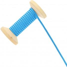 Soutache Tano 3 mm - bleu - Bobine de 25 m