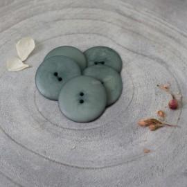 Palm Corozo Button - Terracotta Atelier Brunette