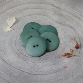 Palm Corozo Button - Cactus Atelier Brunette