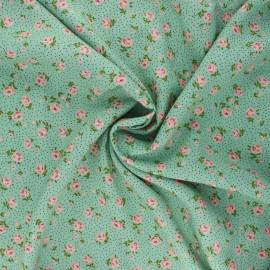 Tissu viscose Sylvaine - vert sauge x 10cm
