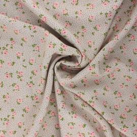 Tissu viscose Sylvaine - grège x 10cm