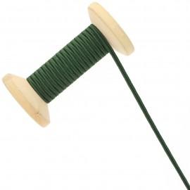 3 mm Cotton Braid Ribbon Roll - Loden Green