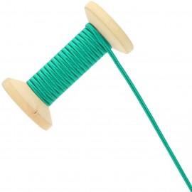 Soutache Tano 3 mm - vert émeraude - Bobine de 25 m