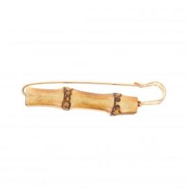 Épingle kilt Bamboo - doré
