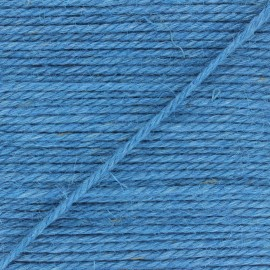 4mm jute rope - blue Yuta x 1m