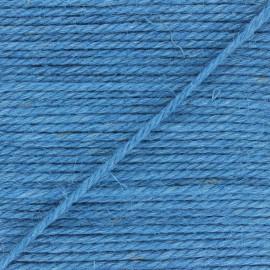 Corde de jute Yuta 4 mm - bleu x 1m