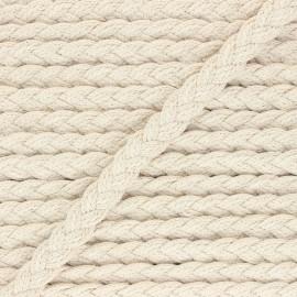 15 mm braided trimmings - raw Yucatán x 1m