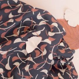 Viscose fabric Atelier Brunette -  Windy Night x 10cm