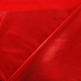 Tissu Lycra poudré rouge x 10cm